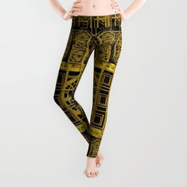 Beautiful stars would be in gold frames Leggings