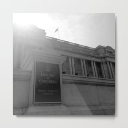 Library of Congress Metal Print
