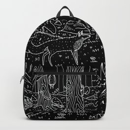 Nocturnal Animals of the Forest Backpack