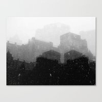 edinburgh Canvas Prints featuring Edinburgh by Slug Draws