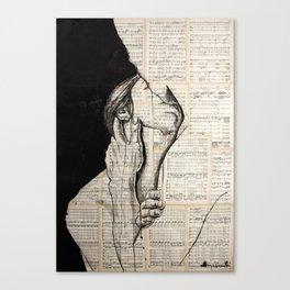 Pretty love Canvas Print