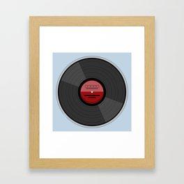 Vinyl Record LP Framed Art Print