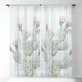 Cactus 1 Sheer Curtain