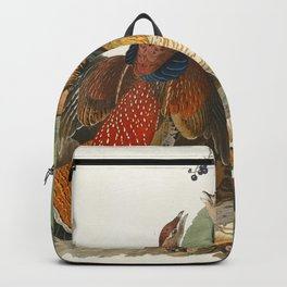 Ruffed Grouse from Birds of America (1827) by John James Audubon etched by William Home Lizars Backpack