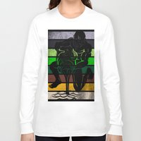 aquarius Long Sleeve T-shirts featuring Aquarius by Rendra Sy