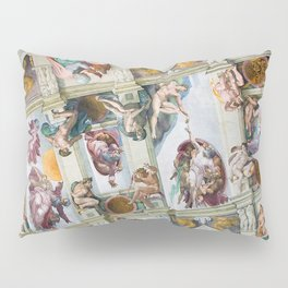 The ceiling of the Sistine Chapel Pillow Sham