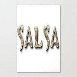 Salsa Barberian Ancient Canvas Print