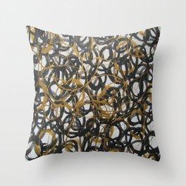 Geaux Throw Pillow