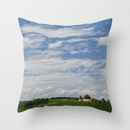 southern france Throw Pillow