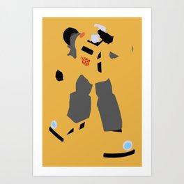 Transformers G1 - Autobot Bumblebee Art Print