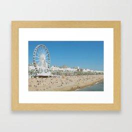 Brighton Beach II Framed Art Print