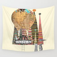 adventure Wall Tapestries featuring adventure days by bri.buckley