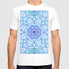 Doodle Style G362 Mens Fitted Tee MEDIUM White