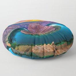 River's Bend Floor Pillow