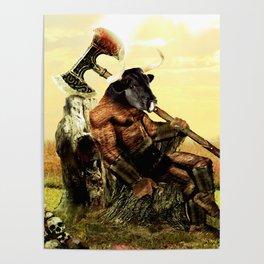 The Minotaur's Rest Poster