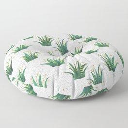 Field of Aloe Floor Pillow