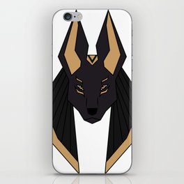 The Gold Jackal iPhone Skin
