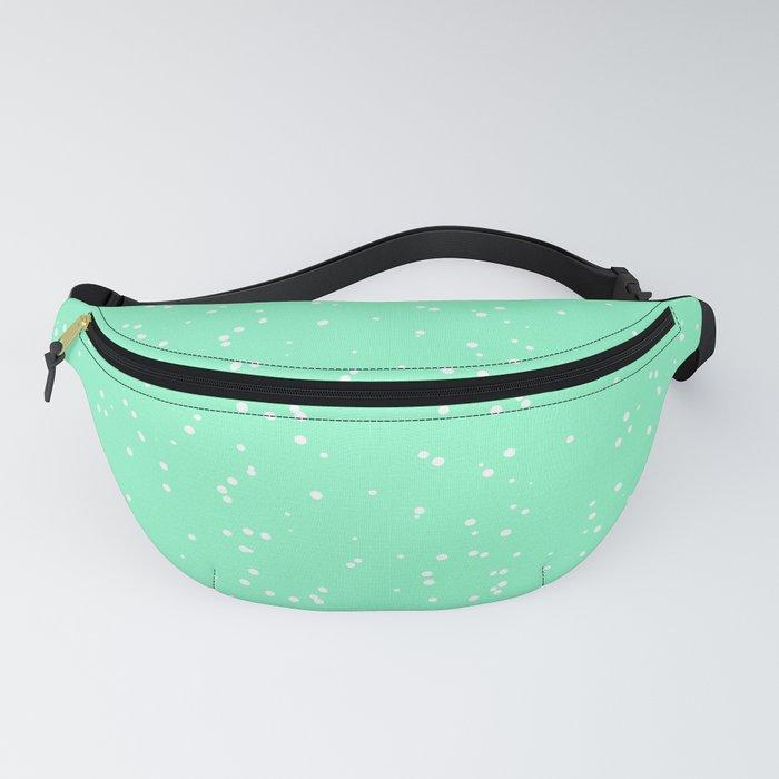 Light Green Shambolic Bubbles Fanny Pack