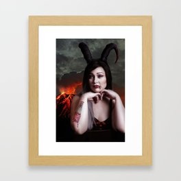 From  Hell With Love - A Horror Pinup Project Framed Art Print