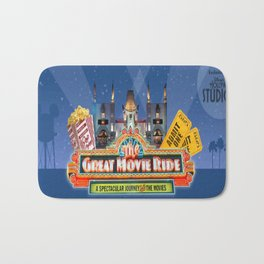 The Great Movie Ride Bath Mat