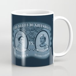 Pillowtown vs Blanketsburg Coffee Mug