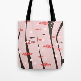 Zen Fishes Tote Bag