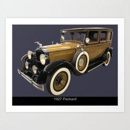 1927 Packard Art Print