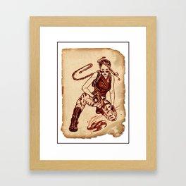 Tomb Raider Challenge 04 Framed Art Print