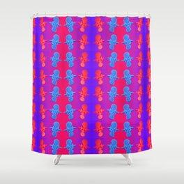Fantasy-war-pattern #2 Shower Curtain