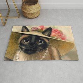 Lady Cat Rug