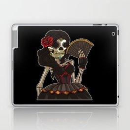 Skeleton Lady of the Dead | La Calavera Catrina Laptop & iPad Skin