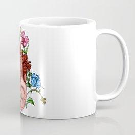 An Overgrown Floral Heart Coffee Mug