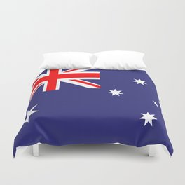 Flag of Australia Duvet Cover