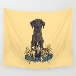 Dogs1 Wall Tapestry