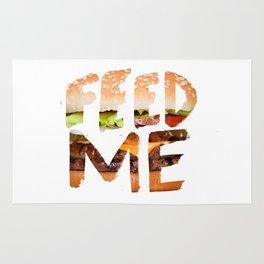 Feed me. Rug
