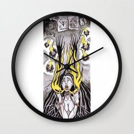Conjuring Spell #8 Wall Clock