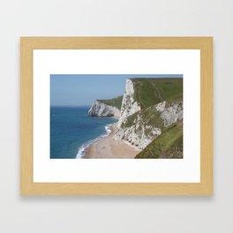Jurassic Coast, Dorset, Photo 5b Framed Art Print