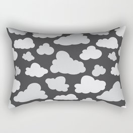 cloudy camo Rectangular Pillow