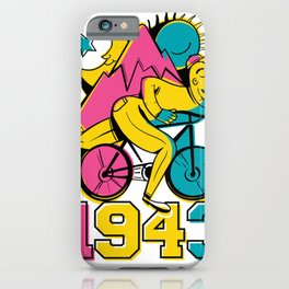 Bicycle day 1943 iPhone Case