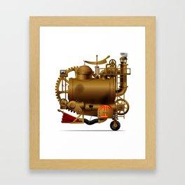 Fantastic machine Framed Art Print