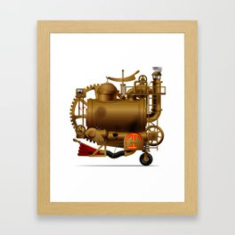 Fantastic machine Framed Art Print