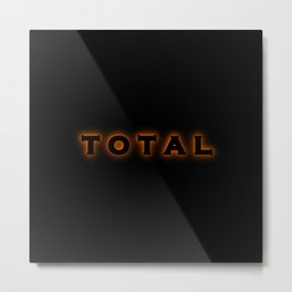Total Solar Eclipse Metal Print