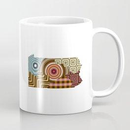 Pennsylvania State Map Coffee Mug