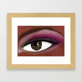 A K A Eye of the Beholder Framed Art Print