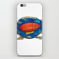 led zeppelin iPhone & iPod Skins featuring Zeppelin by sugu