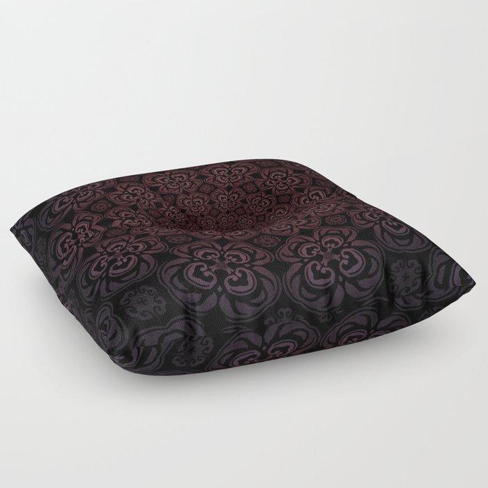 Pure Evil Pansies - Fall 2018 Floor Pillow