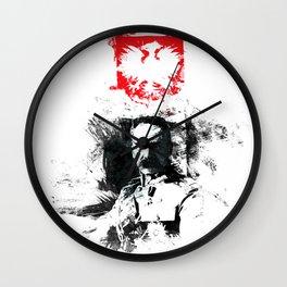 Polska - Marszałek Piłsudski Wall Clock