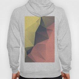 Anna — Poster summer, sun yellow, art geometric, low poly triangle, mountain, landscape, sunrise Hoody