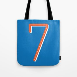 The Lucky Number Seven Tote Bag