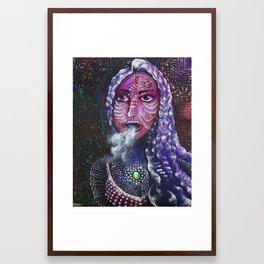 The Devil's Daughter Framed Art Print